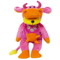 Lullabelle the Funky Cow Bear