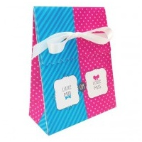 Gender Reveal Bow or Bow Tie Favour Bags