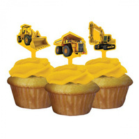 Construction Zone Cupcake Toppers/Picks