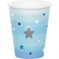 1st Birthday Boy Twinkle Twinkle Little Star Cups