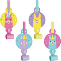 Llama Party Party Blowouts