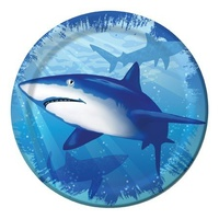 Shark Splash Lunch Plates