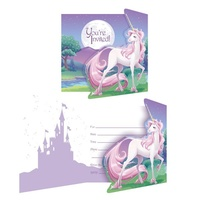 Unicorn Fantasy Invitations