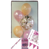ISO Birthday Package ~ Ultimate (Pink)