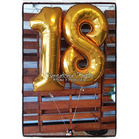 Balloon Number Set 140cm (Double-Digit)