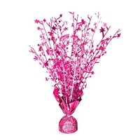 Glitz Pink Happy Birthday Balloon Weight Centrepiece