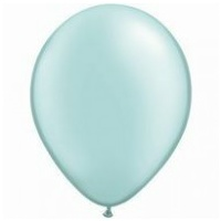 28cm Green Pearl Mint Latex Balloons