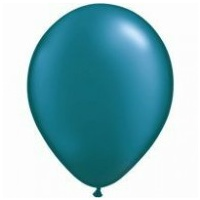 28cm Teal Pearl Latex Balloons