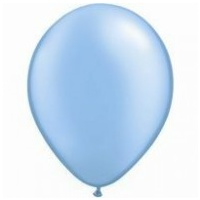 12cm Blue Pearl Azure Latex Balloons (Pkt 100)