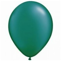 12cm Green Pearl Emerald Latex Balloons (Pkt 100)