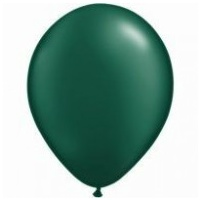 12cm Green Pearl Forest Latex Balloons (Pkt 100)