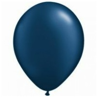 12cm Blue Pearl Midnight Latex Balloons (Pkt 100)