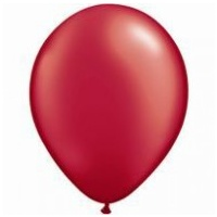 12cm Red Pearl Ruby Latex Balloons (Pkt 100)