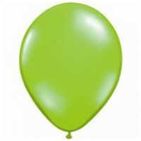 12cm Green Pearl Lime Latex Balloons (Pkt 100)